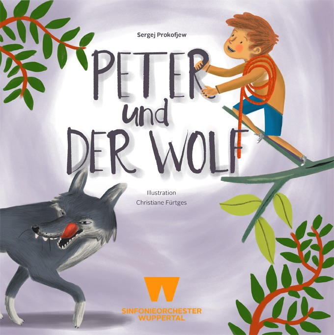 "Cover of ""Peter and the wolf"""