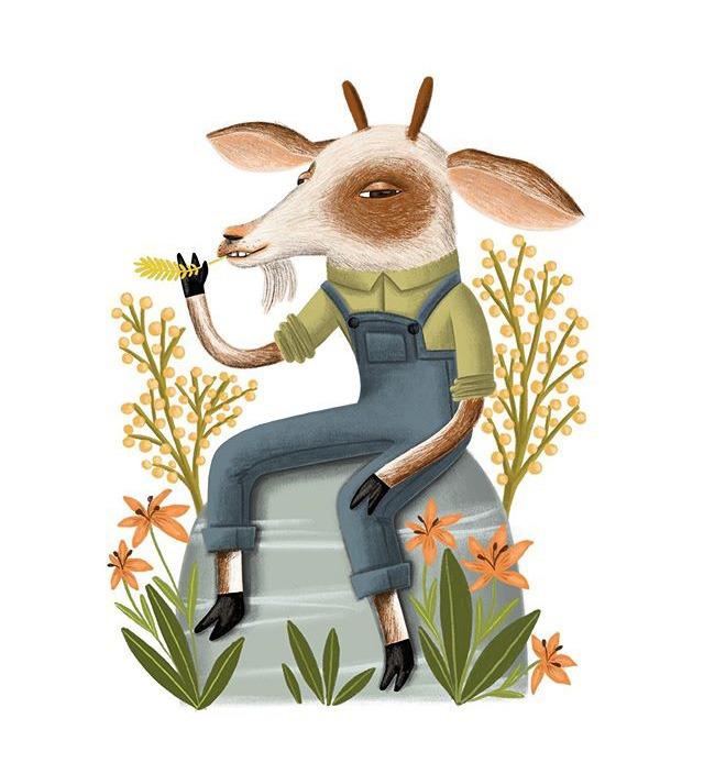 """goat"" – illustration"